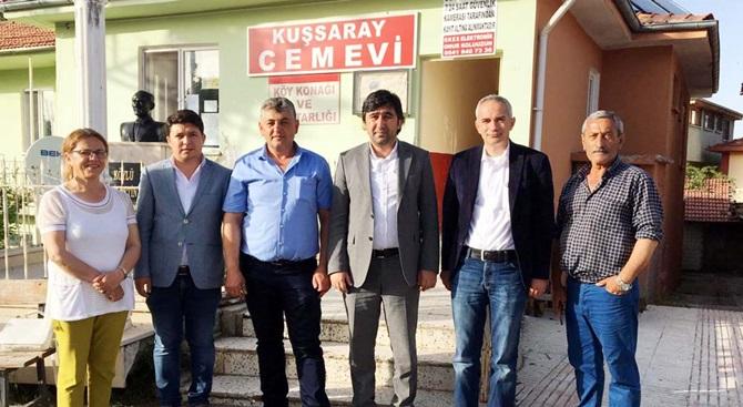 CHP, Köy Muhtarlarını Kutladı