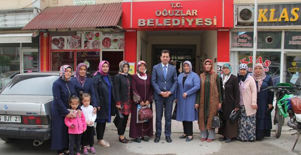 AK Kadınlardan Yıldırım'a Ziyaret