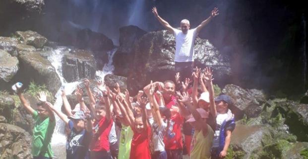 Budakören Şelalesi'ne Doğa Yürüyüşü