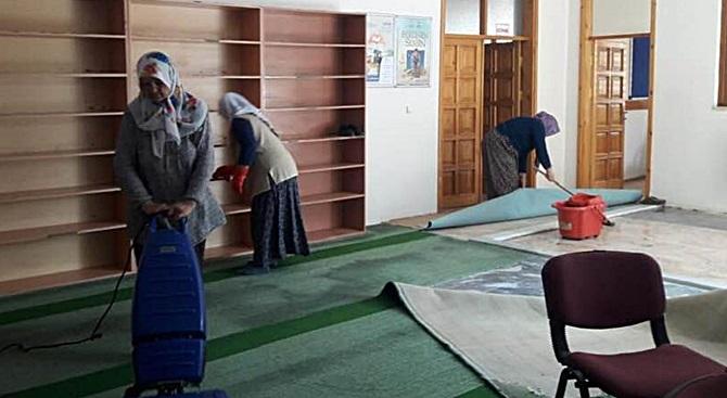 Ortaköy'de Bayram Temizliği