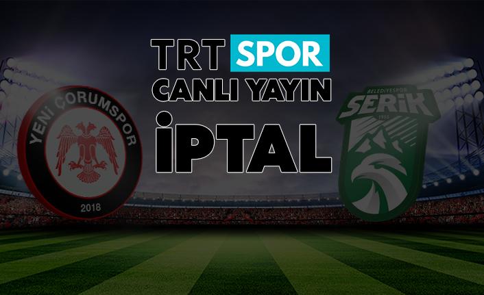 TRT Maçı Canlı Yayınlamayacak