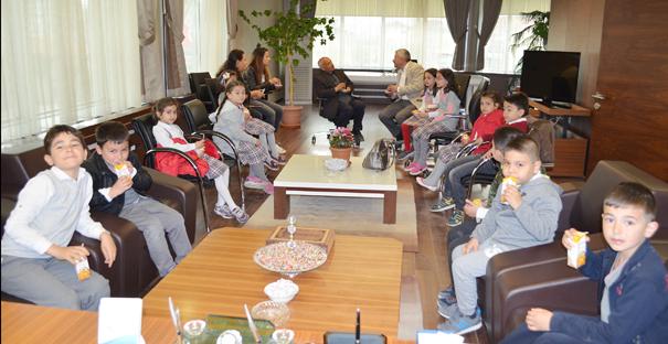 Öğrencilerden Başkan Şaltu'ya Ziyaret