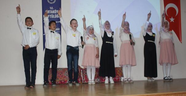Ortaköy'de Kuran-ı Kerim Okuma Bayramı