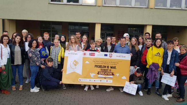 Mehmetçik Lisesi  Gdansk Şehrinde