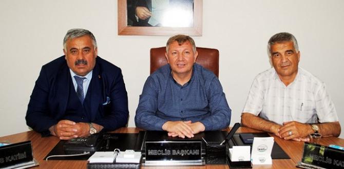 Belediye Başkanlarına Nezaket Ziyareti