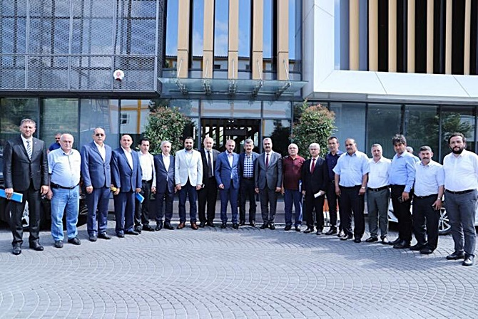 AK Parti Çorum Teşkilatları İstanbul'da