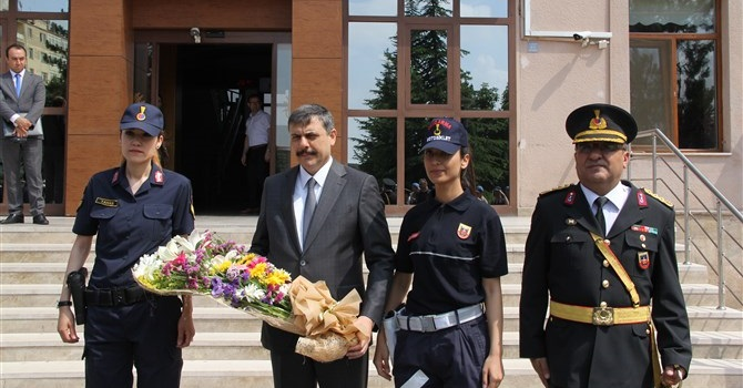 Jandarma Kuruluş Yıldönümünü Kutladı