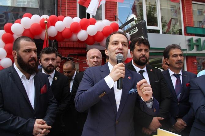 Dr. Fatih Erbakan Çorum'da