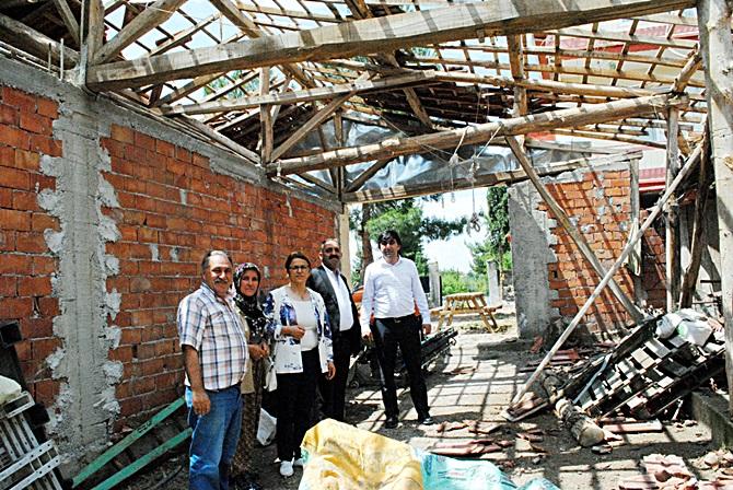 CHP'den Afetzedelere 'Geçmiş Olsun' Ziyareti