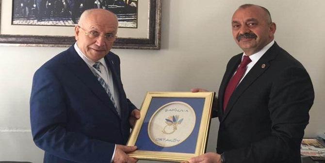 İsbir, İç Anadolu Belediyeler Birliği Yönetiminde.
