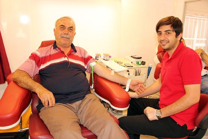 Kan Bağışında Rekor Kırdı