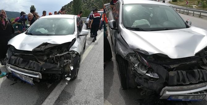 Kargı'da Trafik Kazası: 2 Yaralı