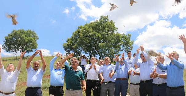 Sungurlu'da Doğaya Keklik Salındı