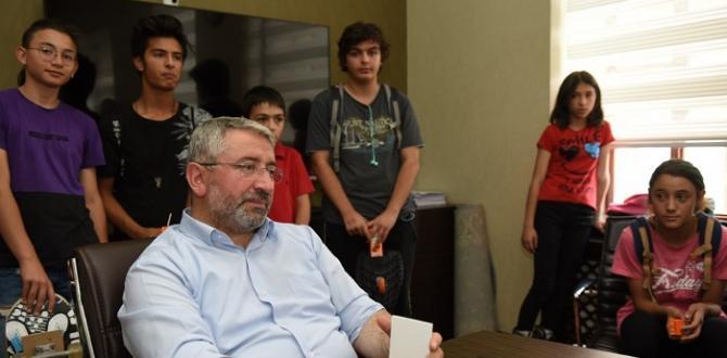 Başkan Patentçi Gençleri Dinledi