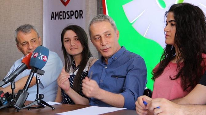 Amed Spor'dan, Yeni Çorumspor'a Dostluk Mesajı