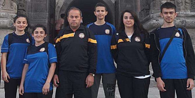 Erzurum'dan Madalya Getirdiler