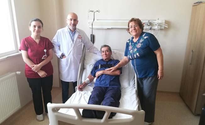 Özel Hastanede Sağlığına Kavuştu