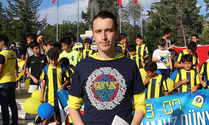 Çorum'da Dünya Fenerbahçeliler Günü Coşkusu