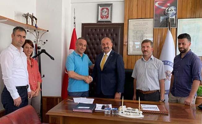 Ortaköy'de İmzalar Atıldı