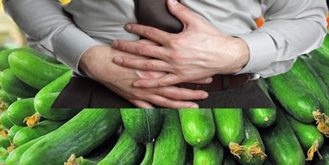 Salatalıktan Zehirlendiler