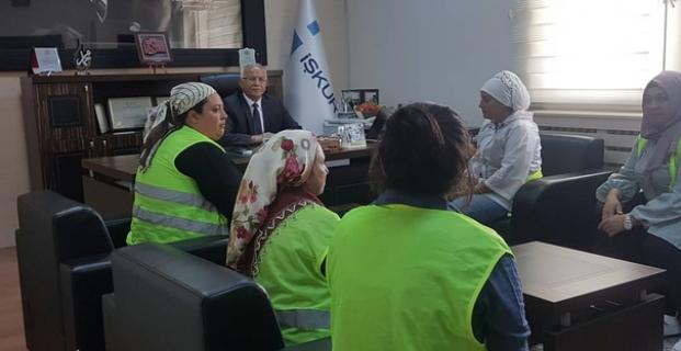 TYP Çalışanları Şahan'ı Ziyaret Etti
