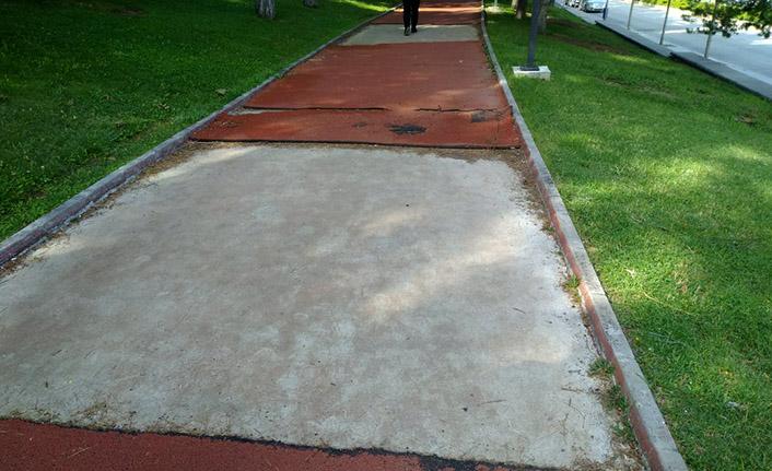 Eskiyen Yürüyüş Parkurları Yenileniyor
