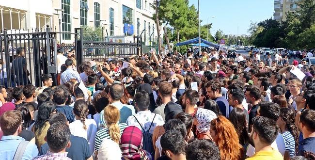 Çorum'dan, Antalya'ya Sınava Gittiler
