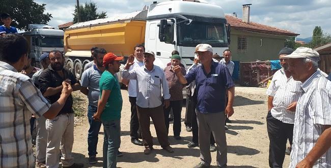İki Köy Arasında Asfalt Krizi Çıktı