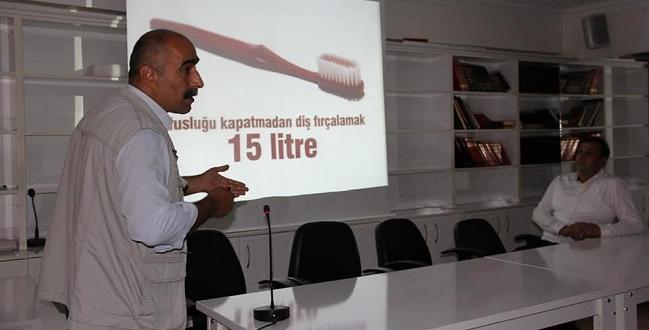 Belediyeden 'Su Hayattır' Konferansı