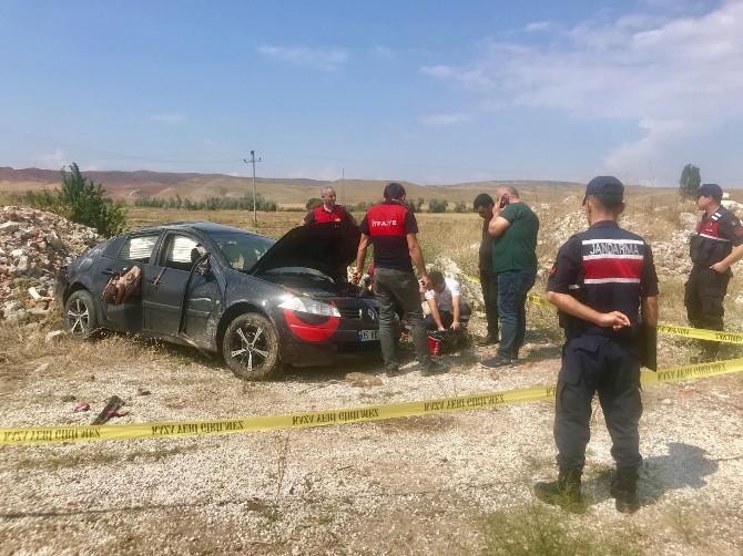 Çorum'da Feci Kaza : 2 Ölü, 3 Yaralı