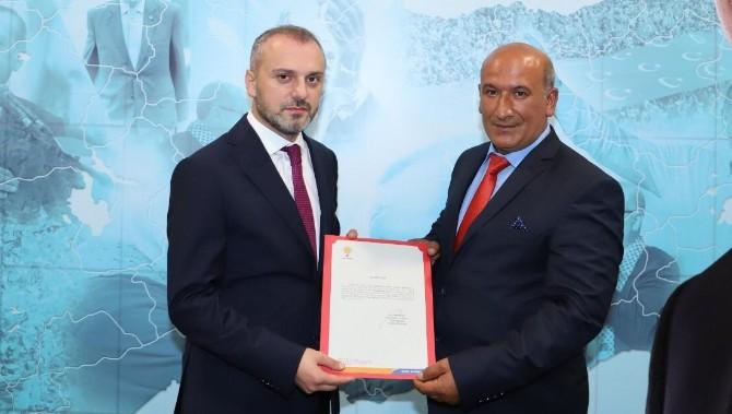 AK Parti'de İlçe Başkanı Değişti
