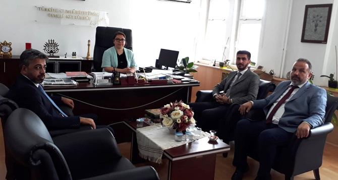 Kültür Turizm Müdürü Şengül'e Ziyaret