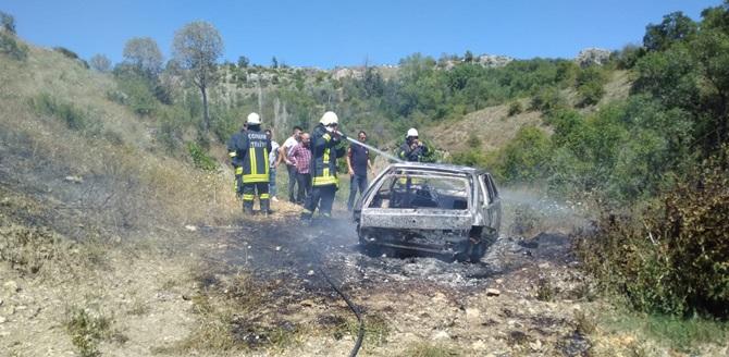 Bayramda Yangın ve Kaza Peşinde Koştular