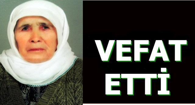 Hacı Arslan Tök'ün Annesi Vefat Etti