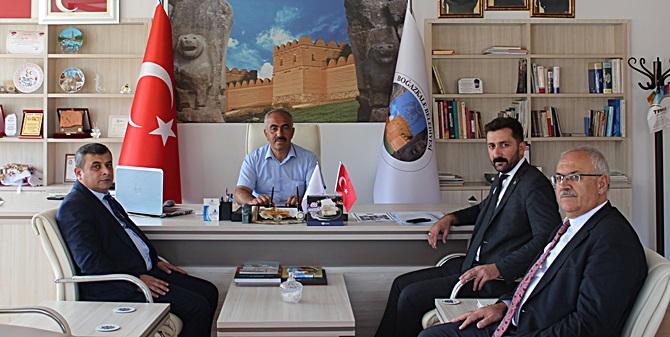 MHP İl Başkanı Kaynar'dan Ocaklı'ya Ziyaret
