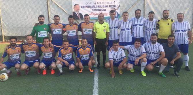Belediye Futbol Turnuvası Başladı