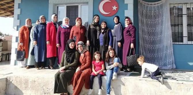 AK Kadınlardan Alaca'ya Çıkarma