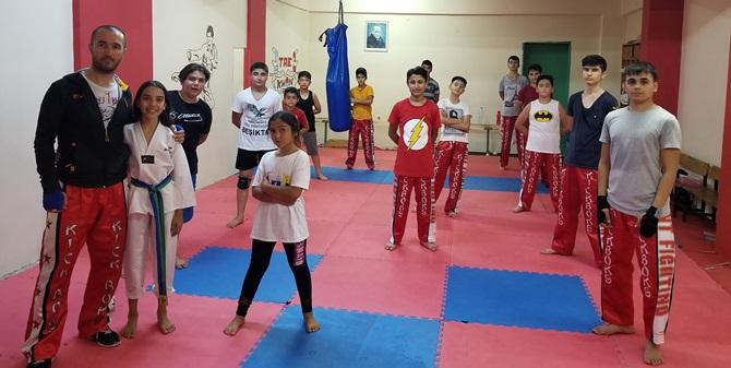 Sungurlu'da Kick Boks'a Yoğun İlgi
