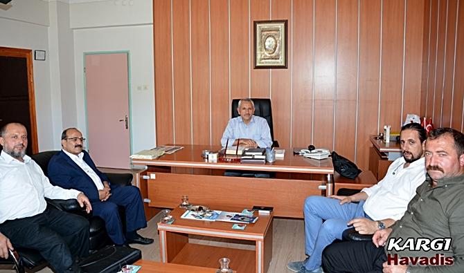 Başkan Şen, Yeni Müftüye Başarılar Diledi
