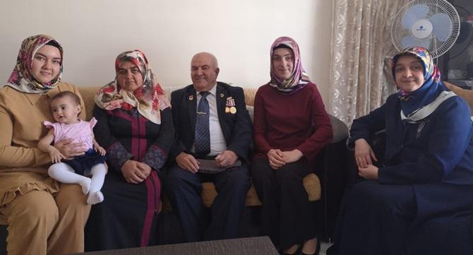 Feyza Aşgın'dan Gazilere Ziyaret