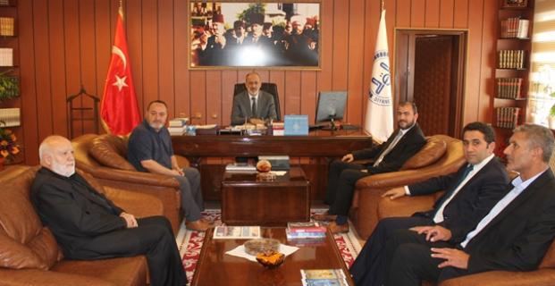 Saadet Partisi'nden Müftü Biçer'e Ziyaret