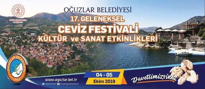 Oğuzlar'da Ceviz Festivali Başlıyor