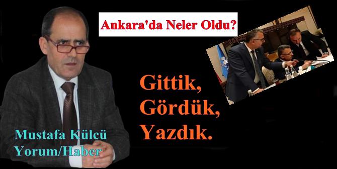 Ankara İzlenimlerimiz…