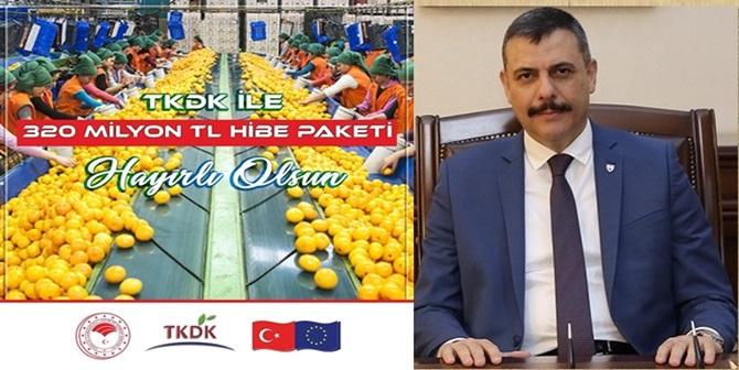 TKDK 50 Milyon Avroluk Destek Paketi Açıkladı