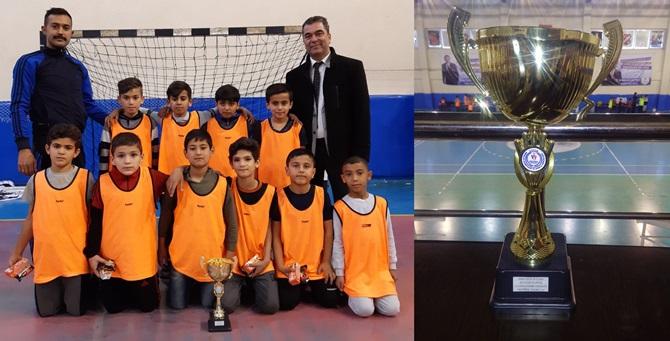 Atatürk Kupasının Şampiyonu Zafer İlkokulu Oldu