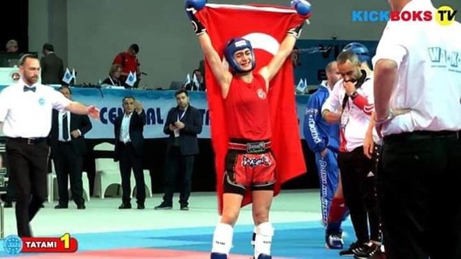 Çorumlu Gülşah Dünya Şampiyonu Oldu