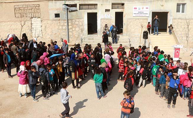 İHH'dan, İdlib'e Okul