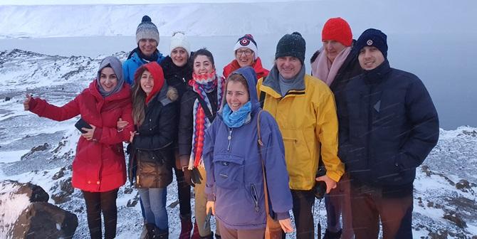 Mehmetçik Lisesi İzlanda'ya Gitti