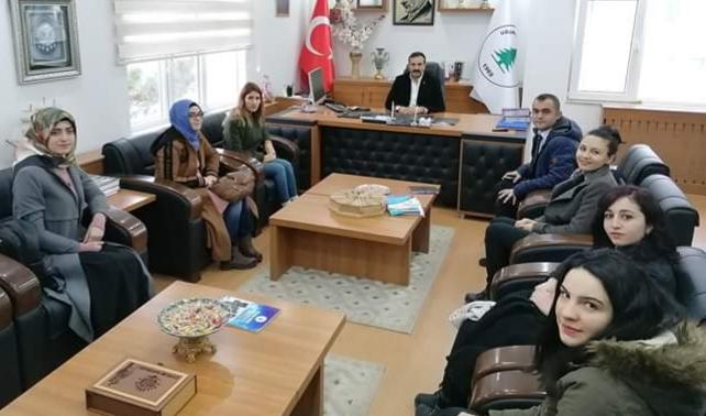 Aday Öğretmenlerden Başkan Torun'a Ziyaret