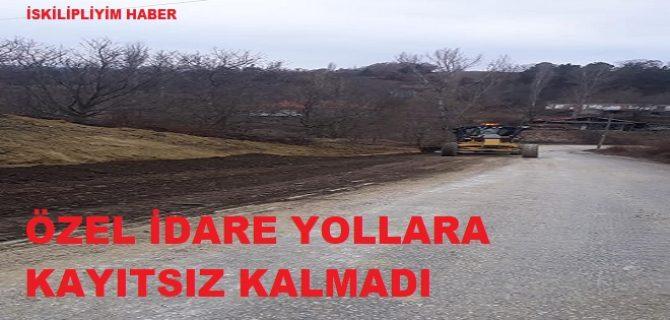 Yanoğlan Köyü Yolu Hemen Yapıldı